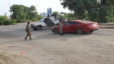 صورة الحزام الأمني ينفذ حملة أمنية لتمشيط العاصمة عدن