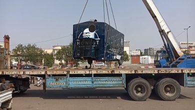 صورة عدن.. الأجهزة الأمنية تنفذ حملة واسعة لإزالة العشوائيات من شوارع المنصورة