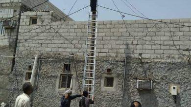 صورة لتحسين اداء الخدمة.. كهرباءالعاصمة عدن تواصل حملة فصل الربط العشوائي