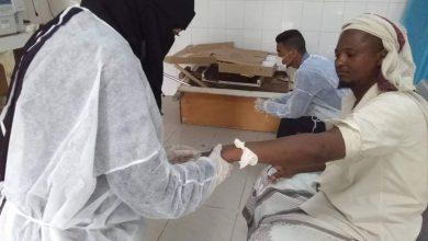 صورة أبين.. افتتاح مركز لمعاينة الحميات وكورونا في مستشفى الرازي بدعم إماراتي