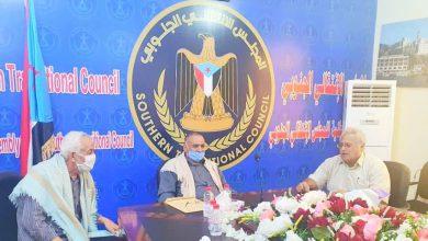 صورة الدكتور عبدالسلام حُميد يناقش مع لجنة الإشراف على قطاع المياه برنامج عملها للمرحلة القادمة