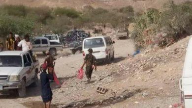 صورة شبوة.. مليشيا الإخوان تقتل مواطنا وتصيب آخرين في وقفة احتجاجية بجردان