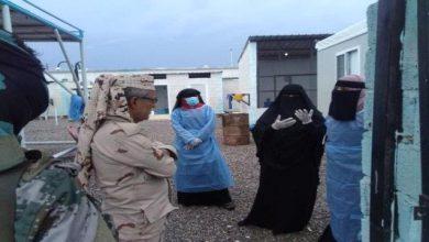 صورة رئيس انتقالي أبين يزور مستشفى زنجبار ويتفقد مركز العزل الصحي