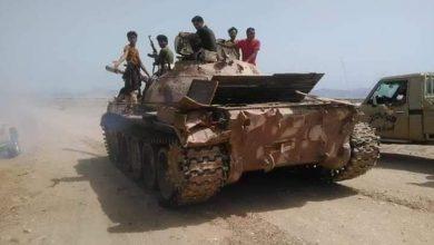 صورة تجدد الاشتباكات بين القوات الجنوبية ومليشيا الإخوان في أبين