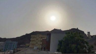 صورة كسوف حلقي للشمس في سماء العاصمة عدن (صور)