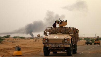 صورة مصرع العشرات من مليشيا الحوثي جنوب الحديدة اليمنية