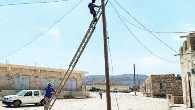 صورة خليفة الإنسانية تواصل دعم مشاريع الكهرباء في سقطرى