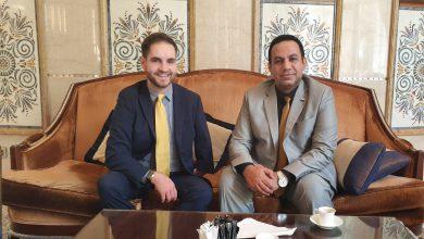 صورة ممثل إدارة  الشؤون الخارجية الشبحي يلتقي نائب سفيرة جمهورية ألمانيا الاتحادية