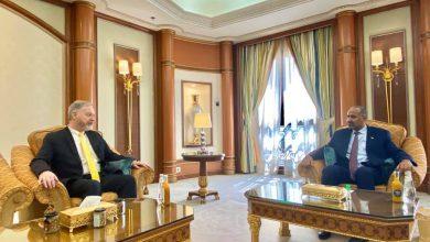 صورة الرئيس الزُبيدي يستقبل سفير الولايات المتحدة الأمريكية