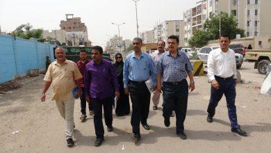 صورة اللجنة المكلفة بمتابعة أوضاع السجون تزور عددا من مراكز الشرط بالعاصمة عدن