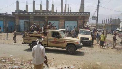 صورة أبين.. هجوم مسلح يستهدف مقر قوات الحزام الأمني في لودر