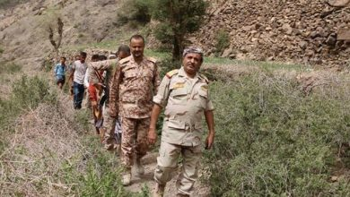صورة تعرف على القائد العسكري الذي عينه الرئيس هادي قائدا للواء 35 مدرع خلفا للشهيد الحمادي