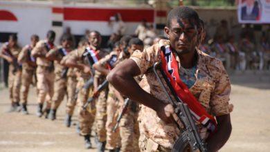 صورة مليشيا الإخوان الإرهابية تفجر الوضع عسكريا في التربة وتهاجم قوات اللواء35 مدرع