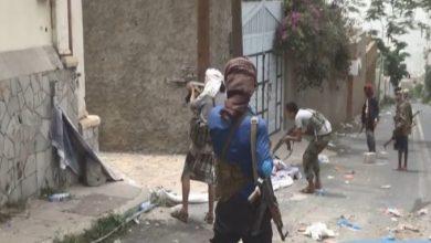 صورة تجدد المواجهات بين فصائل مليشيا الإخوان الإرهابية بتعز اليمنية