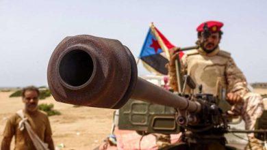 صورة أبين .. مليشيا الإخوان تعاود قصف مواقع القوات الجنوبية والأخيرة ترد