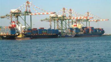 صورة ميناء عدن ينفي وجود شحنة من نترات الأمونيوم في مساحاته