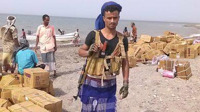 صورة القوات المشتركة تضبط أسلاك خاصة بالمتفجرات في الساحل الغربي