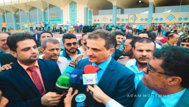 صورة أبرز ما قاله محافظ العاصمة عدن لملس فور وصوله مطار عدن الدولي