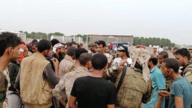 صورة خلال زيارته التفقدية لعدد من القطاعات.. قائد حزام لحج يطلع على سير عمل الخطة الأمنية