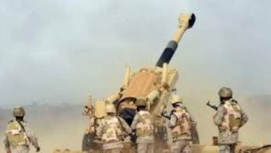 صورة صعدة.. القوات السعودية تستهدف مواقع مليشيا الحوثي في رازح
