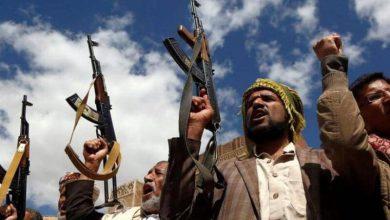 صورة مصرع قيادات بارزة بينهم رفيق الحوثي بغارات للتحالف