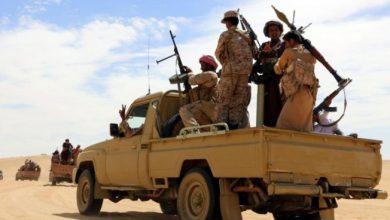 صورة أبين .. شهيدان في قصف لمليشيا الإخوان على مواقع القوات الجنوبية