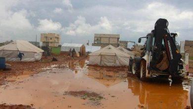 صورة السيول تجرف مساكن مئات النازحين في هذه المحافظات