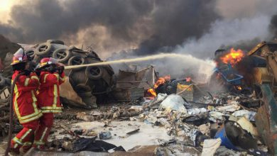 صورة الإحصائيات الأولية لانفجار مرفأ بيروت.. أكثر من 30 قتيلاً و3000 جريح