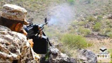 صورة قتلى وجرحى حوثيين في هجوم واسع للقوات الجنوبية شمال الضالع
