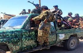 صورة فضيحة عسكرية جديدة لمليشيا الإخوان في مأرب اليمنية
