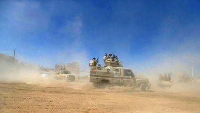 صورة سقوط معسكر للشرعية اليمنية في مأرب بيد الحوثيين