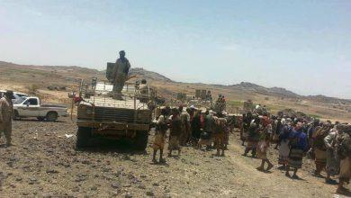 صورة وثائق تكشف تسبب قيادات الإخوان في سقوط جبهة قيفة بالبيضاء بيد مليشيات الحوثي