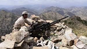 صورة قتلى وجرحى في صفوف مليشيا الحوثي خلال كسر هجوم لهم في جبهة كرش