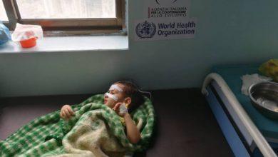 صورة الصحة العالمية: 320 ألف طفل في اليمن يعانون سوء التغذية