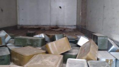 صورة ضبط شاحنة تبريد تحمل ذخائر كانت في طريقها إلى الحوثيين