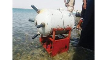 صورة ألغام بحرية حوثية تهدد ناقلة «صافر» النفطية