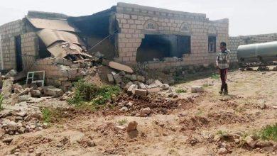 صورة مليشيا الحوثي تقصف قرى البيضاء بالدبابات وسقوط جرحى