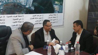 صورة مديرية المنصورة تشهد مراسيم إستلام وتسليم بين المدير الجديد والسابق