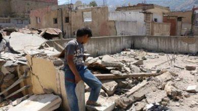 صورة 810 منازل فجرتها ميليشيا الحوثي الإرهابية في هذه المحافظات