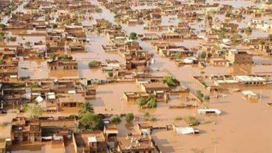 صورة البيان: فيضانات السودان تشرد أكثر من نصف مليون شخص وتدمر 100 ألف منزل