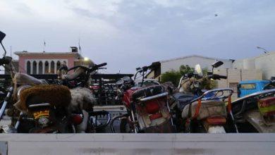 صورة الأجهزة الأمنية تستأنف حملة منع الدراجات النارية في العاصمة عدن