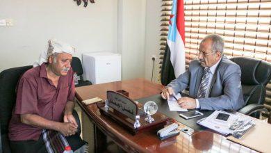 صورة الجعدي يلتقي رئيس عمليات اللواء 35 مدرع