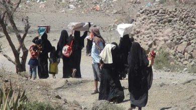 صورة منظمة الهجرة: نزوح 1250 عائلة يمنية في شهر أغسطس
