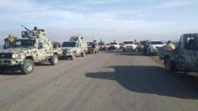 صورة قادمة من مأرب.. تعزيزات إخوانية تصل جبهة أبين