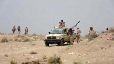 صورة القوات المشتركة ترد على خروقات مليشيا الحوثي في الدريهمي
