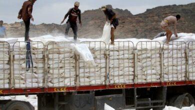 مليشيا الحوثي تتصارع على نهب المساعدات الإغاثية