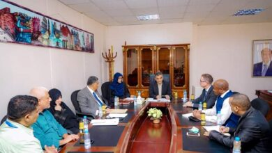 صورة محافظ العاصمة #عدن يلتقي المدير القطري لمنظمة #اليونسيف ويطّلع على أبرز أنشطتها في المحافظة