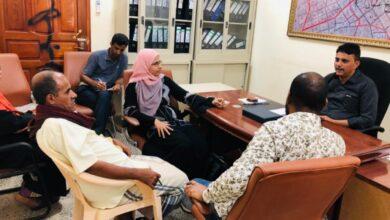 صورة مدير عام دارسعد يلتقي بوفد من منظمة أوكسفام البريطانية بالعاصمة #عدن