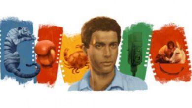 """صورة جوجل يحتفي بالذكرى 71 لميلاد أحمد زكي """"إمبراطور السينما المصرية"""""""