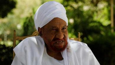 """صورة وفاة زعيم حزب الأمة السوداني """"الصادق المهدي"""" متأثراً بإصابته بفيروس كورونا"""